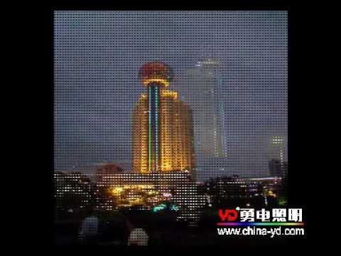 Building lighting - Wuhan Jiangcheng Mingzhu Hotel