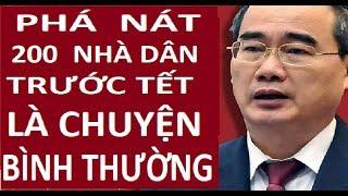 Bộ mặt thật của Nguyễn Thiện Nhân qua biến cố  Vườn rau Lộc Hưng
