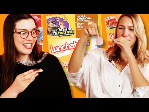 Adults Try Lunchables For The First Time