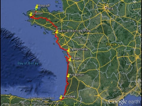 Cycling to Spain, 2014: via Brittany and the French Atlantic Coast