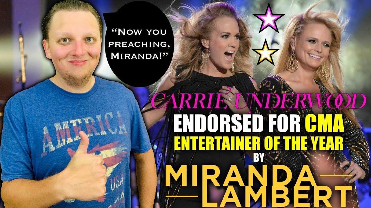 Miranda Lambert applauds Carrie Underwood's 'Drinking Alone ...