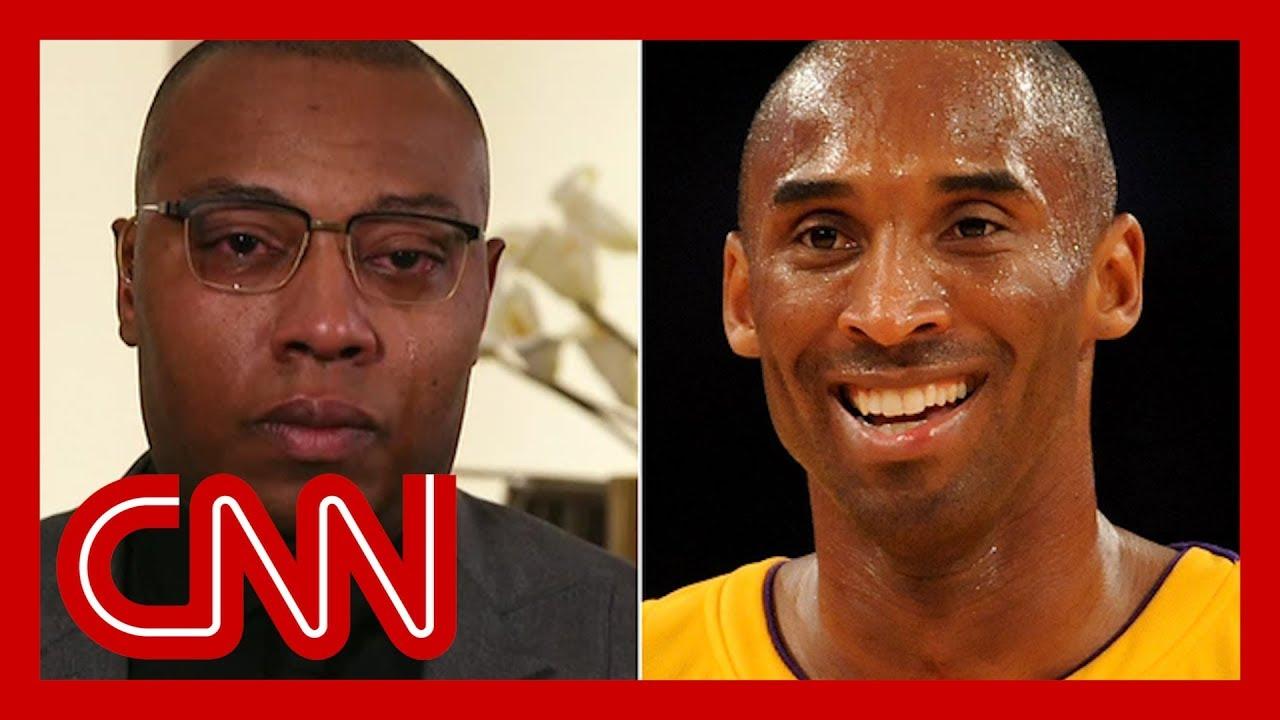 Ex-NBA star's emotional tribute to Kobe Bryant