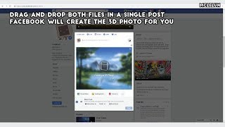 Posting Your Artwork in Facebook as 3D Photo Without Third Party App Or Smart Phone