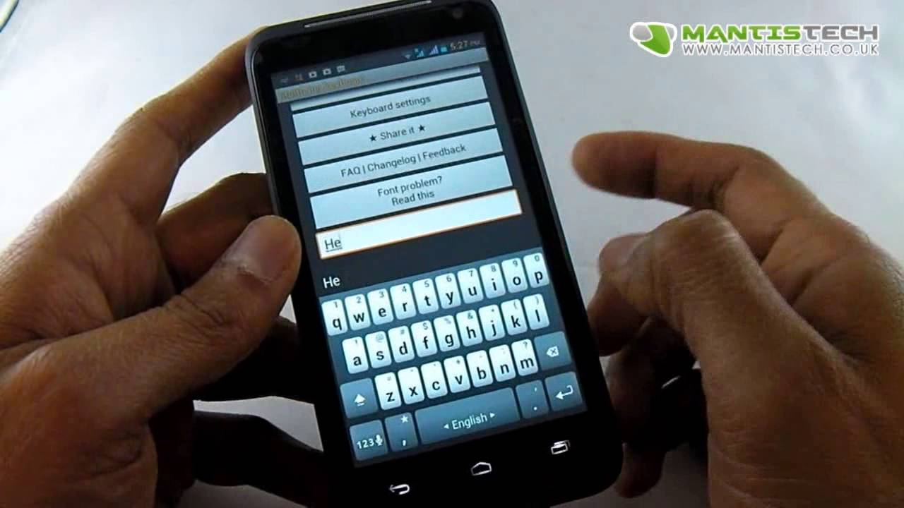 install android multiple language keyboard youtube. Black Bedroom Furniture Sets. Home Design Ideas