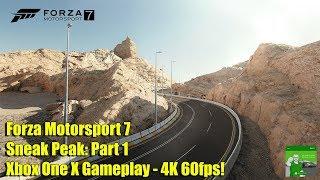 Forza Motorsport 7 - Sneak Peak: Part 1 - Xbox One X Gameplay - 4K 60fps!