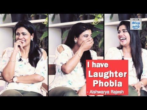 I have Laughter phobia! - Aishwarya Rajesh | Kanaa Team Interview