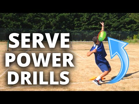 How To Hit Powerful Serves In Tennis - Serve Power Drills