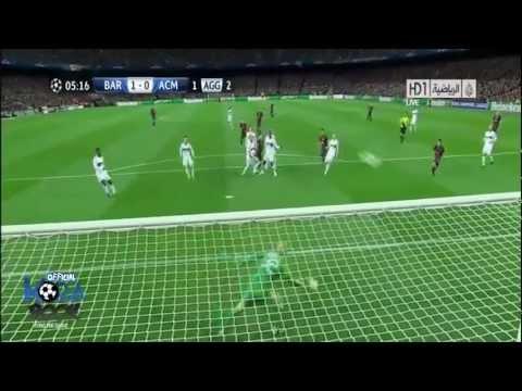 Barcelona Vs AC.Milan (4-0) 2013 Goals & Highlights (12/3/2013) thumbnail