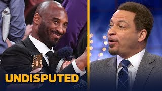 Chris Broussard on Steve Kerr comparing Kobe Bryant, LeBron James and MIchael Jordan | UNDISPUTED