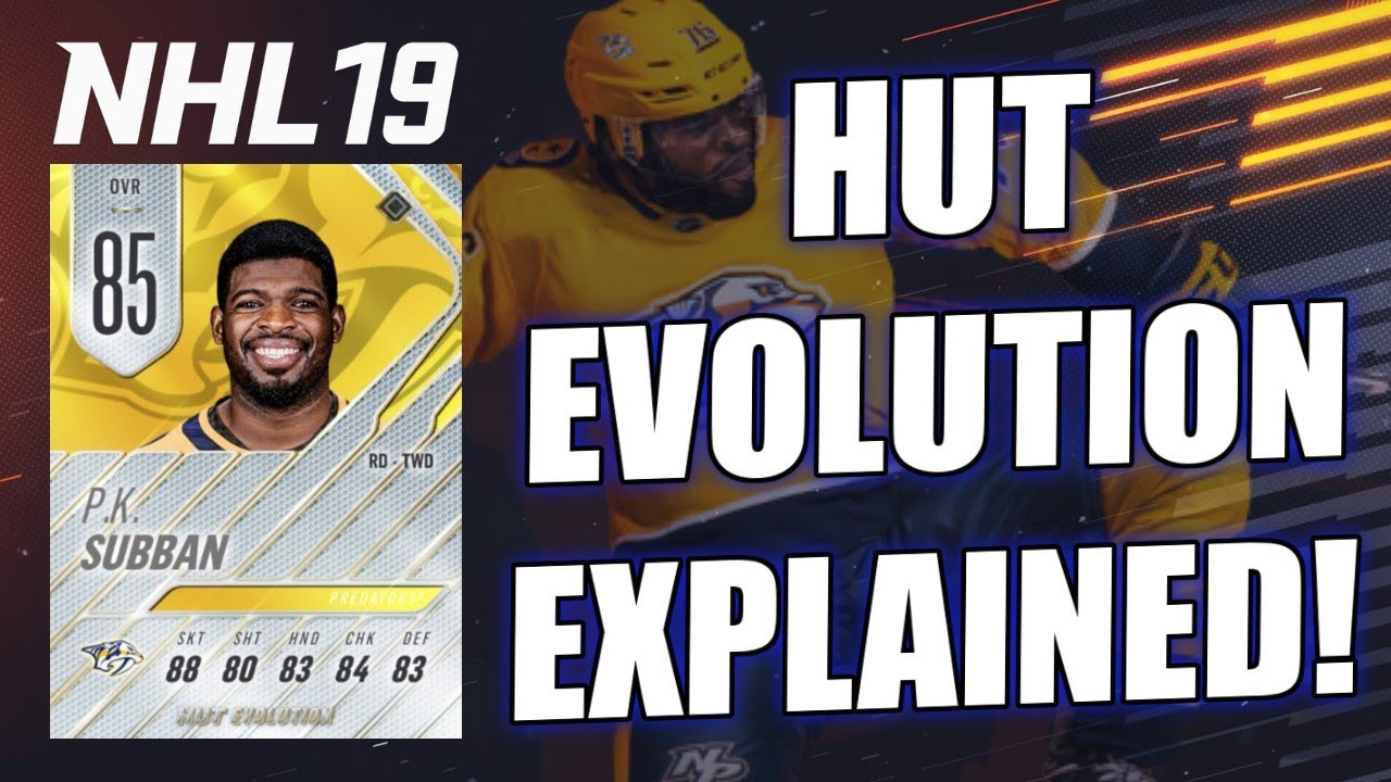 NHL 19 HUT EVOLUTION - EVERYTHING YOU NEED TO KNOW - YouTube deb01e3b5