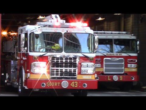Fire Trucks Responding Compilation 2019 #4 - Philadelphia Fire Department