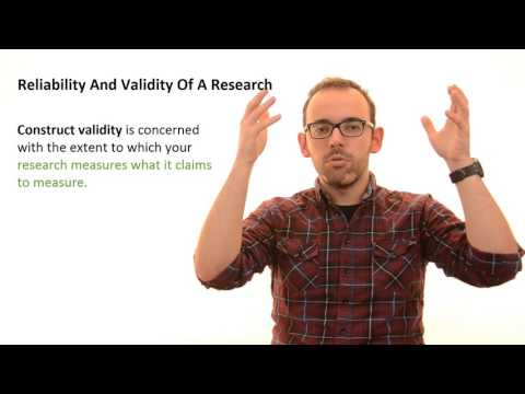 3.11 Validity and Reliability Of Research
