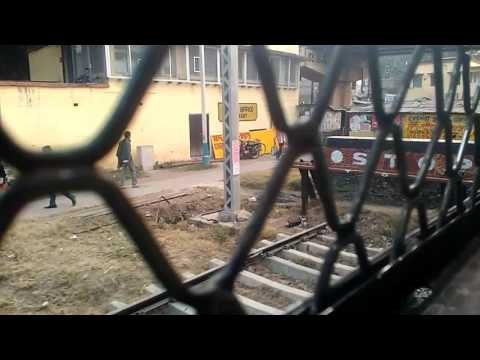 BARASAT MAJHERHAT LOCAL(VIA B.B.D. BAGH) |Train no 30312 | DEPARTURE FROM BARASAT JN | Short Video.