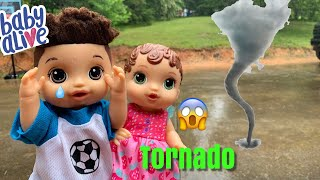 Baby Alive Abby First Tornado afternoon Routine
