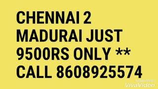 Chennai to Madurai offer