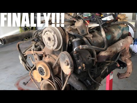 Mopar 440 engine teardown B Body Project