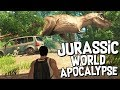 APOCALYPTIC JURASSIC WORLD! (NEW DINOSAUR GAME) - Dinosis Survival Gameplay
