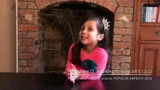 Fatimah O. Mukhlis - Personaliti Media Sosial Popular ABPBH31 2018