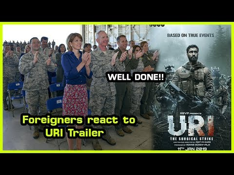 Foreigners React To URI Trailer Reaction | Vicky Kaushal