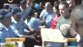 MIJ entrega patrullas a policía municipal de Caroní
