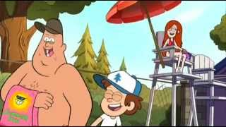 The most funny moments of Gravity Falls (RUS DUB)