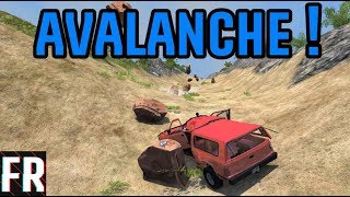 BeamNG Drive - Beat The Avalanche !
