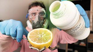 De l'acide sur un citron ?