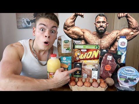 Ich esse 1 Tag lang wie KEVIN WOLTER (Bodybuilder)