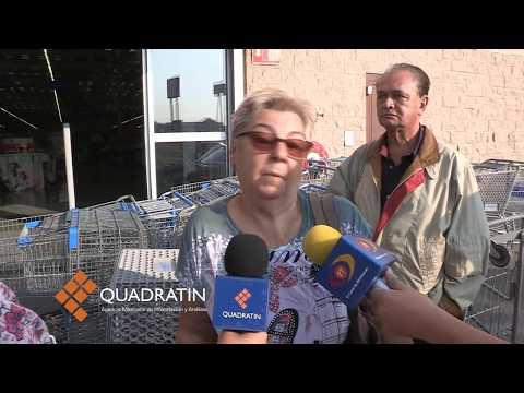 Desaloja GOE a trabajadores, se manifestaban en Walmart de Morelia