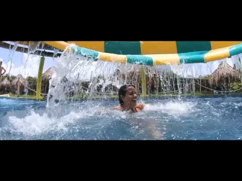 Sirenis AQUAGAMES water park in Punta Cana, Dominican Republic