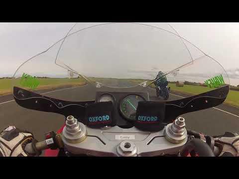 Ducati 888 classic TT Jurby Test Dave Hewson Road Racing