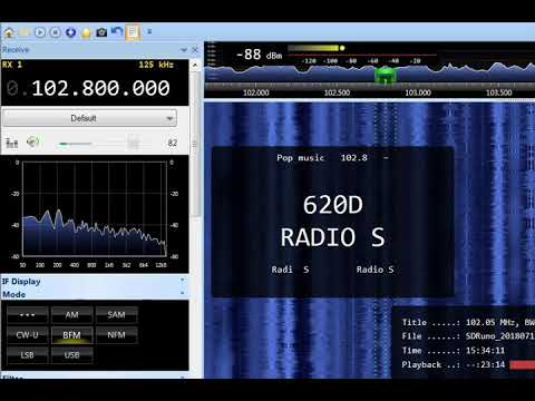 FM DX 102.8 Radio S, Montenegro, heard in Finland
