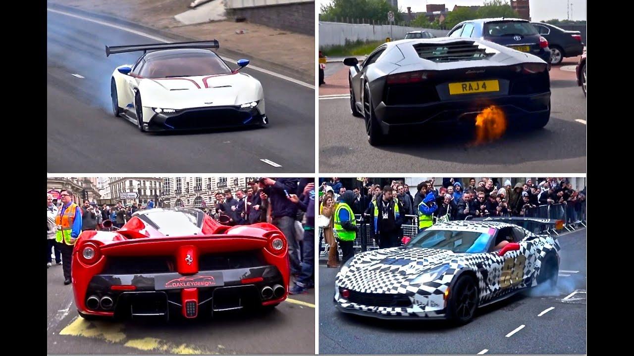 Supercar Sounds 2016 [Part 1] - Vulcan, Aventador, RS6 + More!