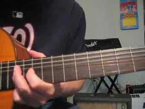 Sleepwalk guitar lesson