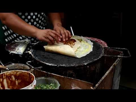 Staple food pancake of Shandong