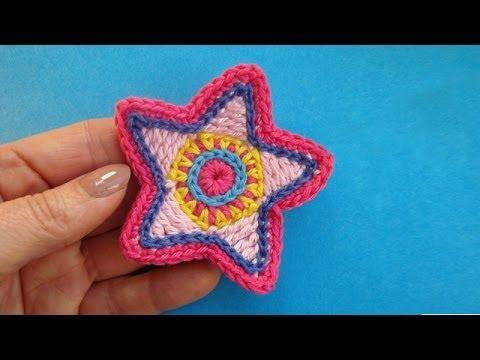 Как вязать звезду Сrochet star