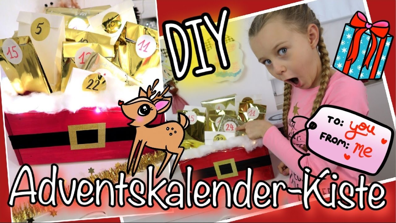 kein platz zum h ngen adventskalender kiste diy coole m dchen youtube. Black Bedroom Furniture Sets. Home Design Ideas