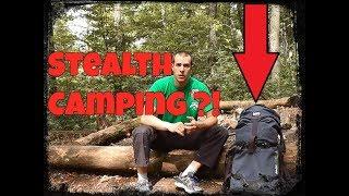 Stealth Camping Regeln, Tarnung im Gelände, Tipps für Bushcraft Teil 1