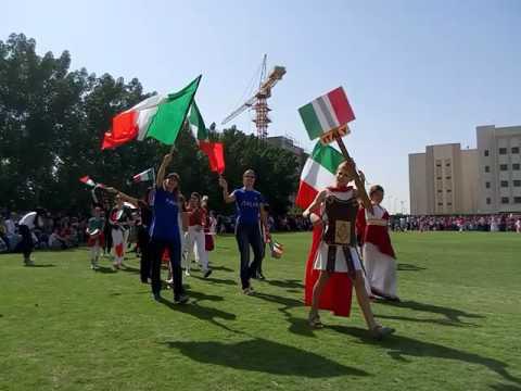 Parade - British International School of Abu Dhabi - 2017 International Day