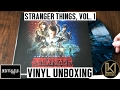 Kyle Dixon & Michael Stein - Stranger Things Volume 1 Vinyl Unboxing   KurVibes