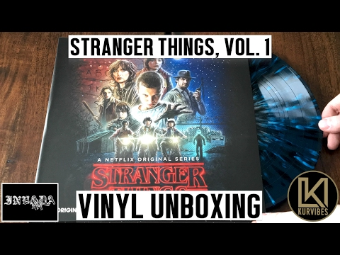 Kyle Dixon & Michael Stein - Stranger Things Volume 1 Vinyl Unboxing | KurVibes