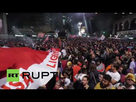 Brazil: Sao Paulo rails at acting Pres. Temer after Rousseff suspended