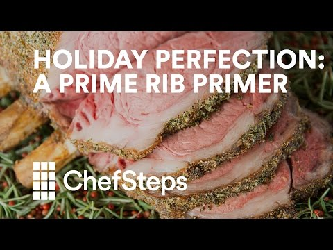 Holiday Perfection: A Prime Rib Primer