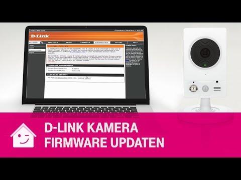 D-Link Kamera Firmwareupdate Manuell Durchführen   Telekom Magenta SmartHome
