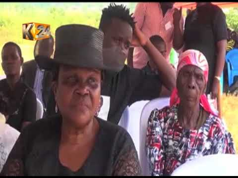 Benga Maesto Gabriel Omollo buried at his home in Ugenya