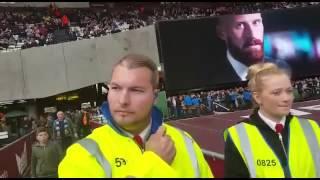 West Ham fans threatened by London Stadium stewards