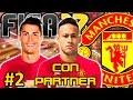 FIFA 17 Manchester United Modo Carrera #2 | RONALDO Y NEYMAR ACEPTAN VENIR | CON PARTNER