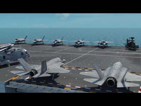 Queen Elizabeth-class carrier, animated tour