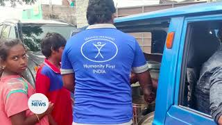 Khuddam in India Provide Aid after Cyclone hit Southern India