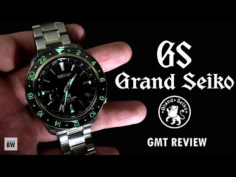 Grand Seiko Spring Drive GMT SBGE001 Full Review
